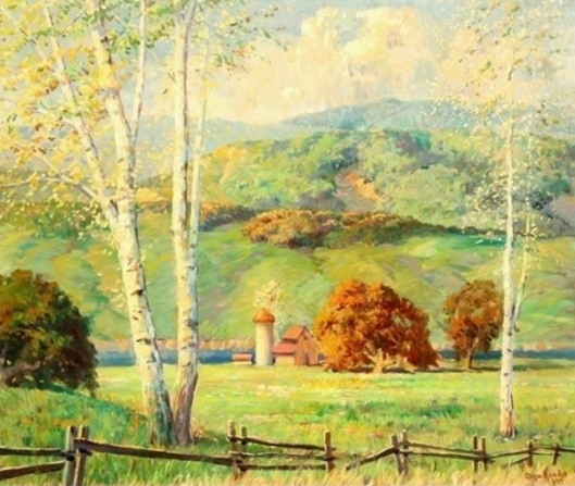 Farmhouse Landscape