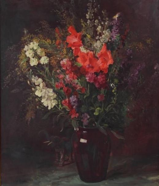 Gladiolas And Stocks