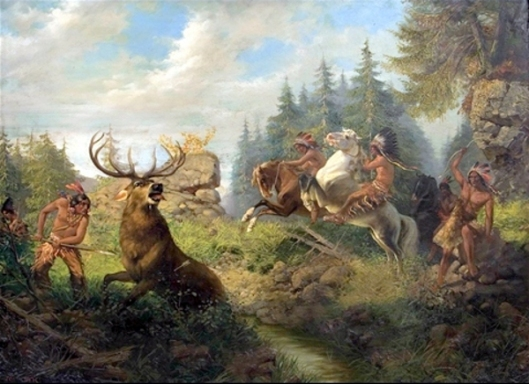 Hunting Scene