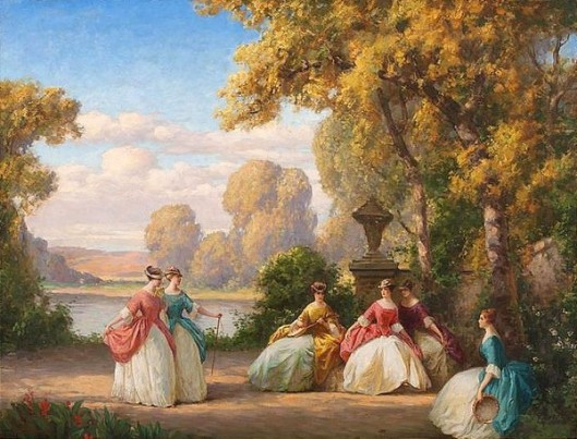 Ladies In A Park