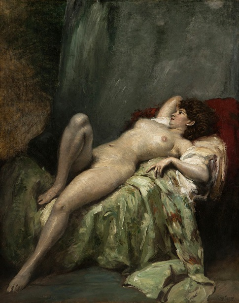 Nude Woman In Repose