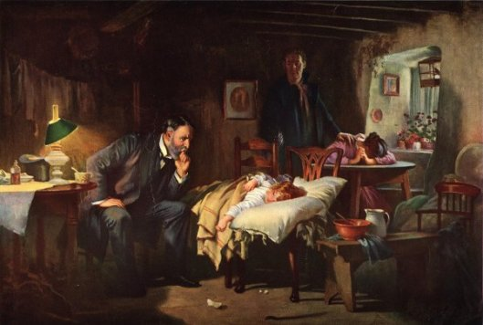 The Doctor (after Sir Luke Fildes)