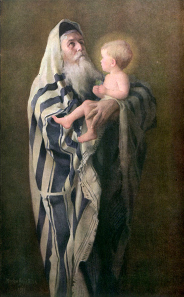Simeon And The Christ Child