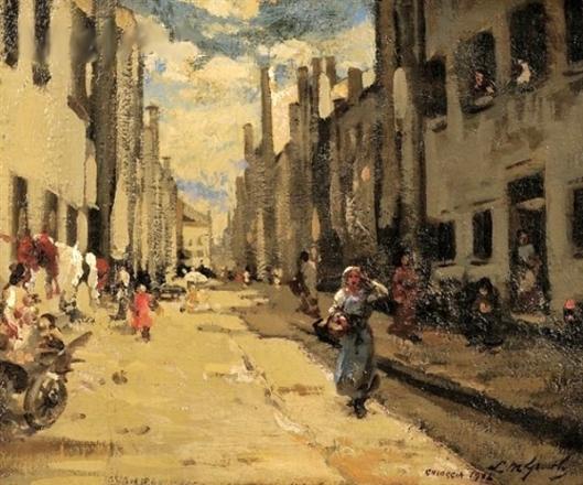 Street In Chioggia, Italy