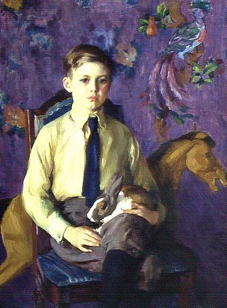 Charles Ballard As A Boy
