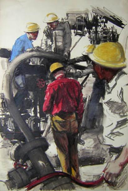 Oil Field Workers