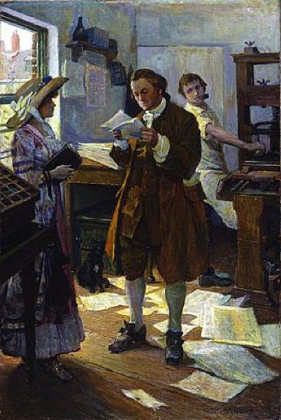 Franklin The Printer