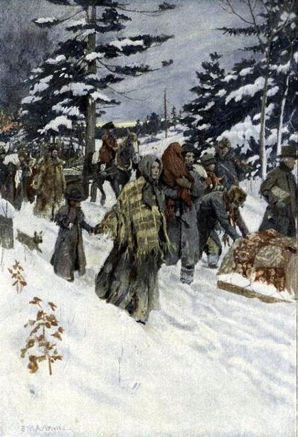 The Refugees From The Niagara Frontier