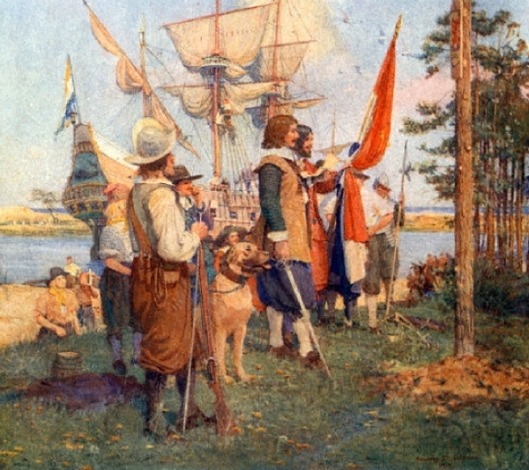 The Settlement Of The Dutch