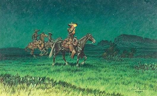 Horseback At Night
