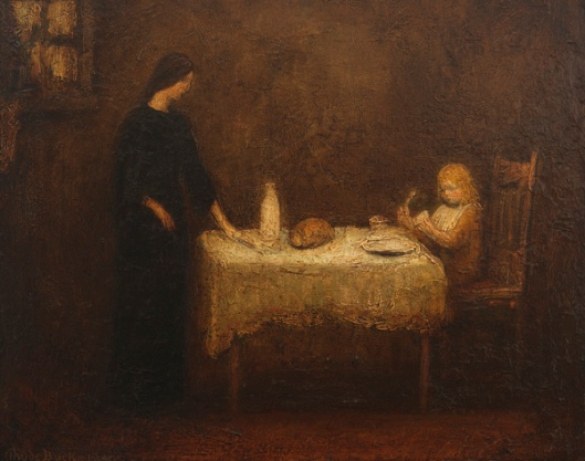 Interior Scene With Artist As A Child