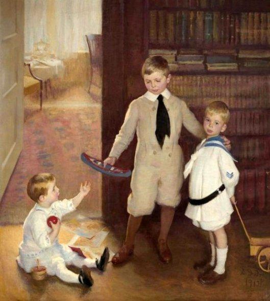 Sam, Lewis And Ward
