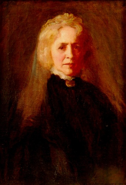 Portrait Of A Woman In Black