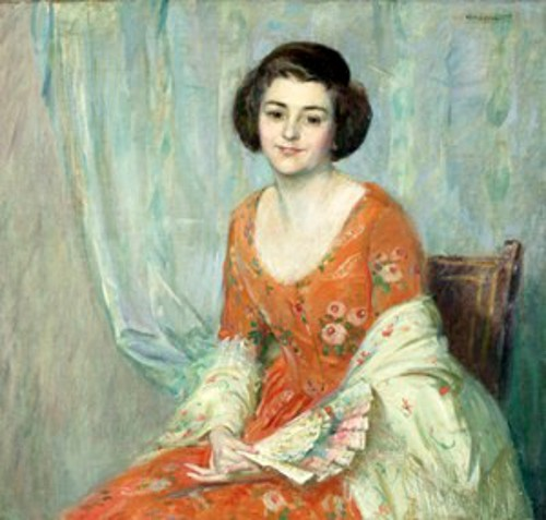 A Seated Lady