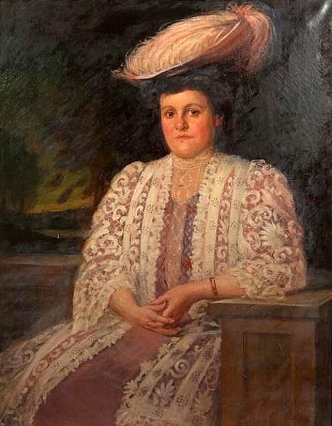 Lady In Plumed Hat