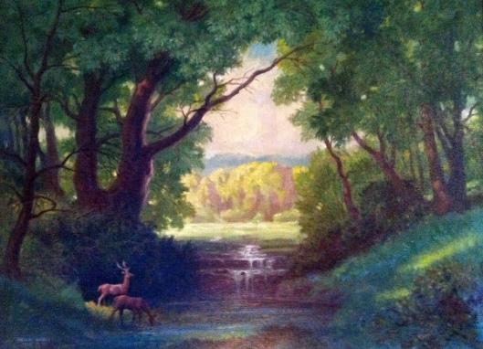 Landscape Deer