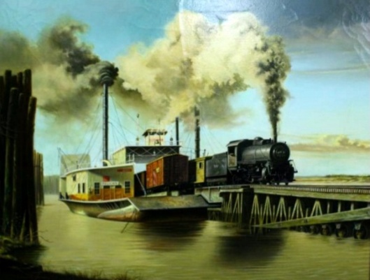 Pelican Railroad Ferry