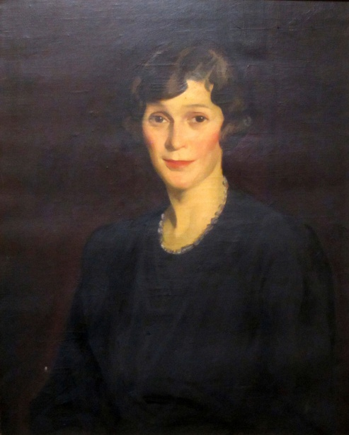 Helen Pleckner Hackett (painting courtesy of Mrs. Rebecca Kelly)