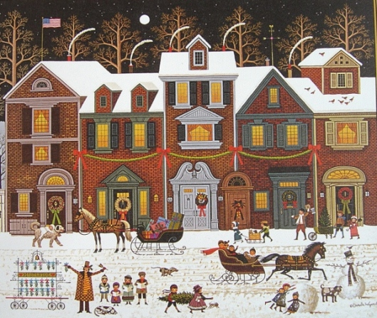 A Merry Christmas Street