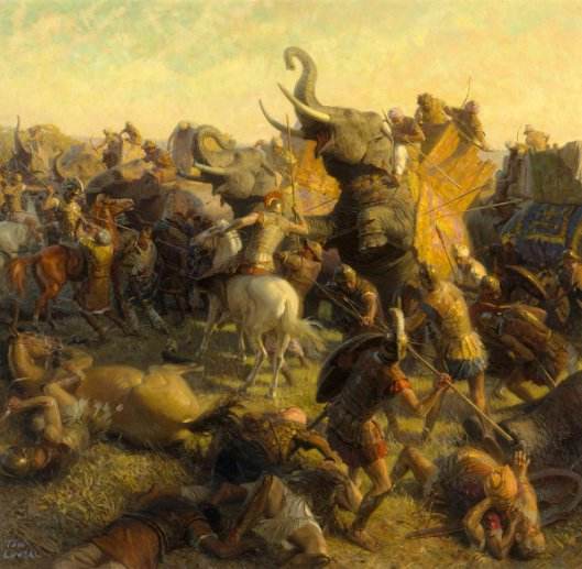 Alexander The Great Battling An Indian Army - The Last Great Battle