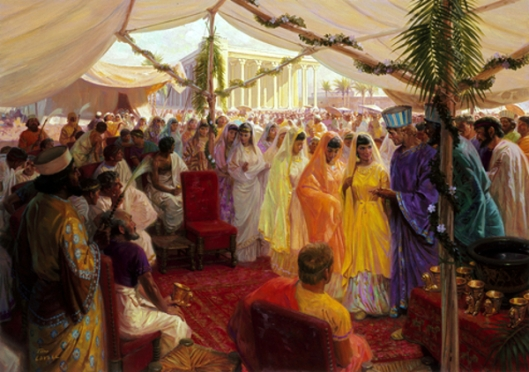 Alexander The Great Celebrates A Mass Marriage In Susa, Persia