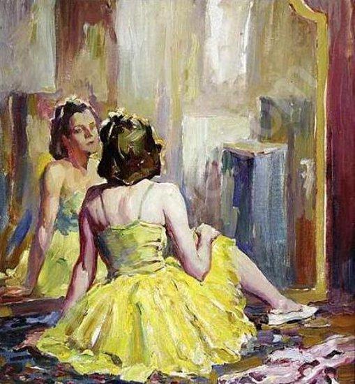 Ballerina In Yellow