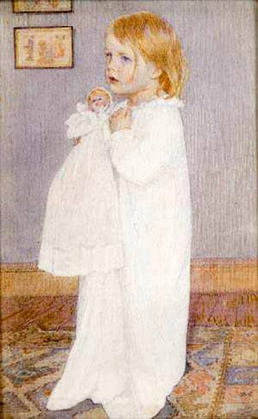 Portrait Of A Child (Clara B. Fuller, the Artist's Daughter)