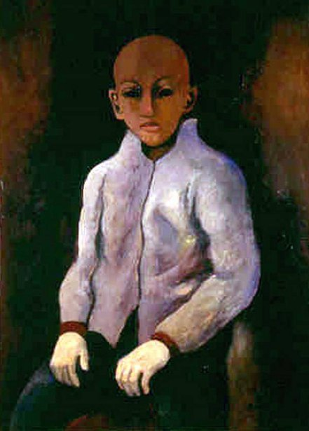 Boy With White Gloves