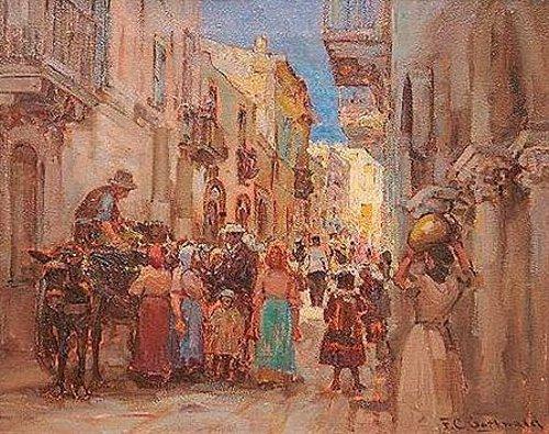 European Street Scene
