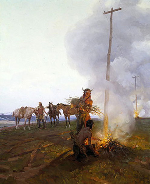 Fires Along The Oregon Trail