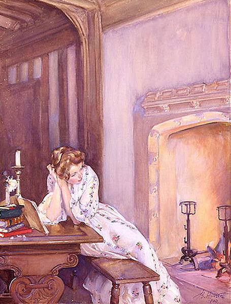 Musing By Giffords' Fireside
