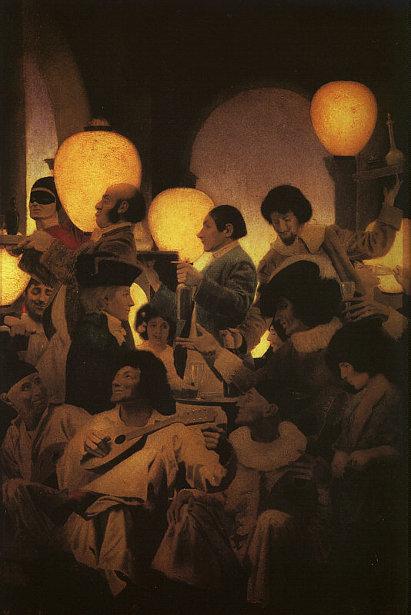 A Venetian Night's Entertainment