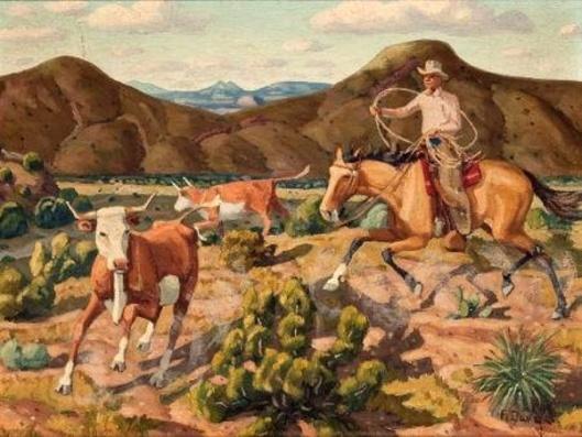 Runaway Steers