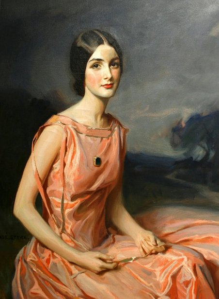 A Young Lady In Pink