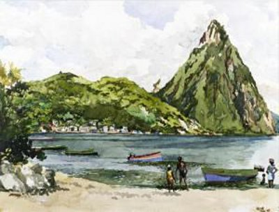 Petit Pitton, St. Lucia