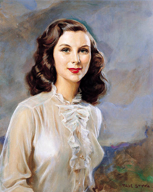 Portrait Of A Girl In A White Blouse