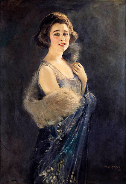 Portrait Of A Lady With Stole