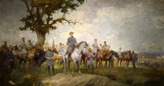 Summer (a gathering of Confederate commanders)