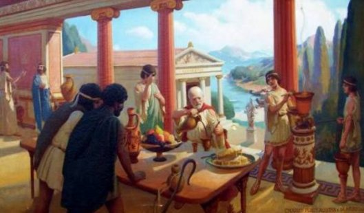 Scene In Ancient Rome