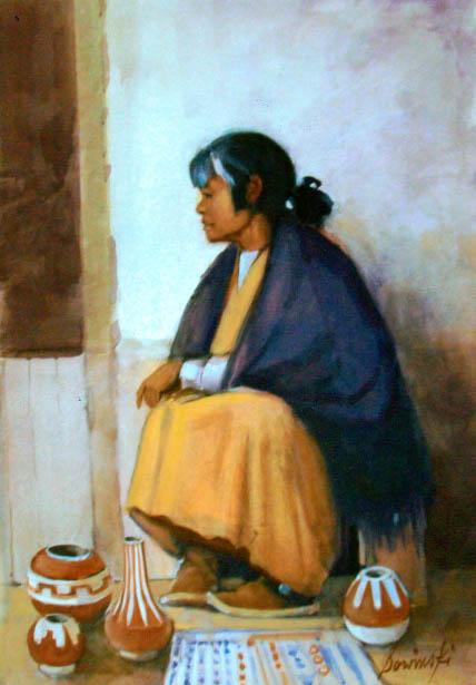 Indian Market, Santa Fe