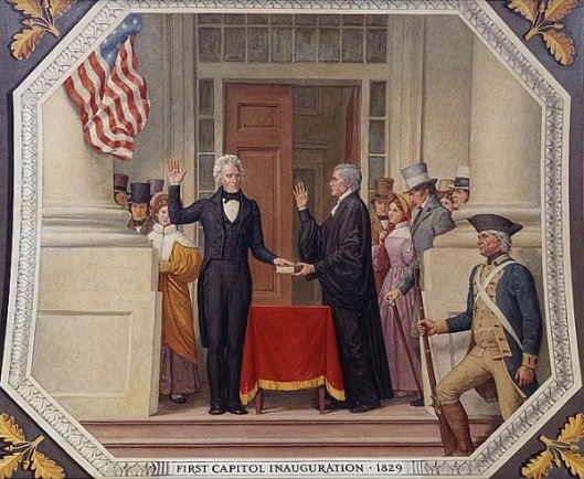 First Capitol Inauguration, 1829 (Inauguration Of President Andrew Jackson)