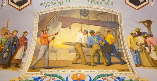 Iron Foundry, circa 1850