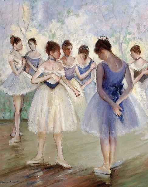 Corps de Ballet, Backstage