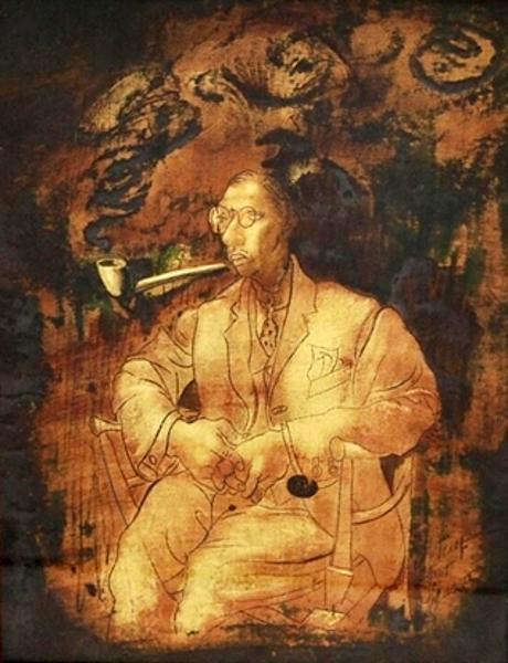Igor Stravinsky (after Picasso)