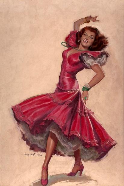 Rita Hayworth - The Loves Of Carmen