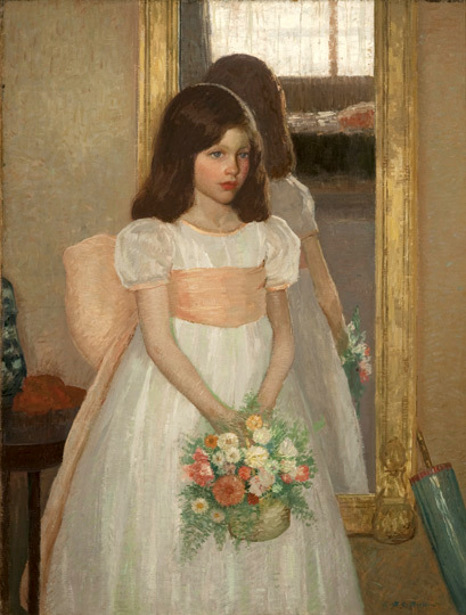 The Little Bridesmaid - Portrait Of Jean (The Artist's Daughter)