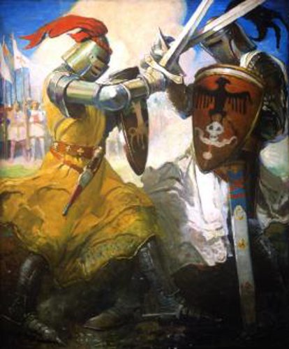 Ivanhoe - Fight Between Ivanhoe And Templar