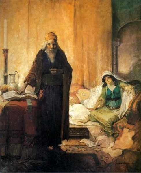 Ivanhoe - Isaac Of York And Rebecca