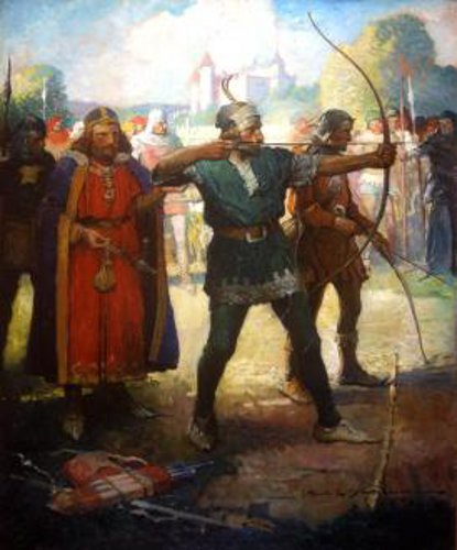 Ivanhoe - Locksley Shoots Before Prince John
