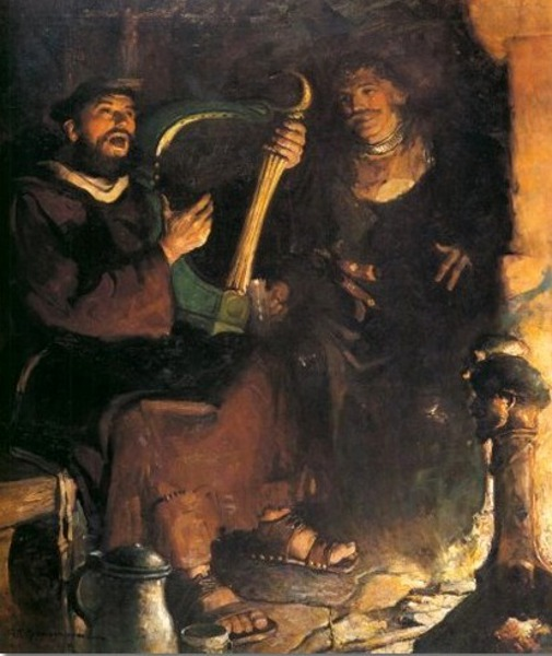 Ivanhoe - The Friar And The Knight